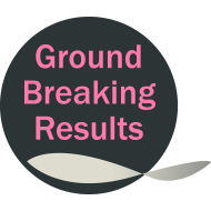ground breaking results